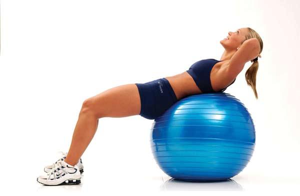 ¿Quieres empezar a practicar ejercicios con el Fitball?